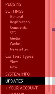 Update Image In Admin Menu